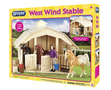West Wind Stable Breyer 701